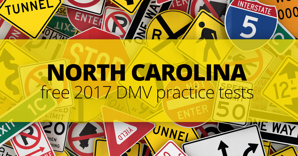 Permit Test Florida >> North Carolina DMV Practice Tests: How to Pass July 2017 NC DMV Test