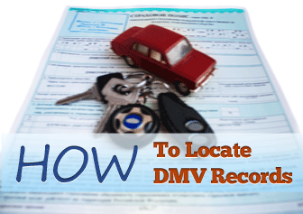 How to Locate DMV Records