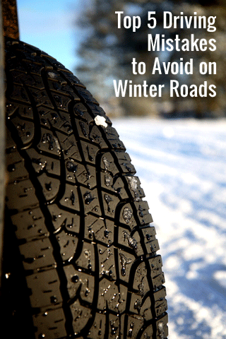 Top 5 Driving Mistakes to Avoid on Winter Roads