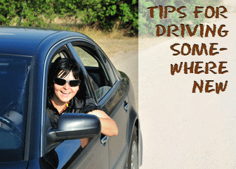 Tips for Driving Somewhere New