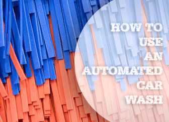 How to Use an Automated Car Wash