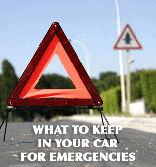 What to Keep in Your Car for Emergencies