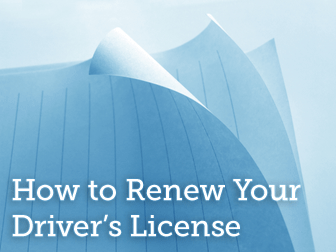 How to Renew Your Driver's License