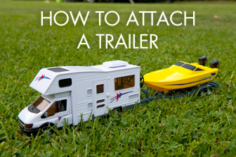 How to Attach a Trailer