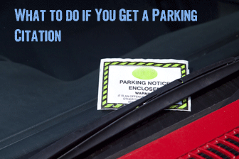 What to do if You Get a Parking Citation