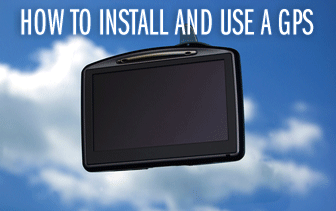 How to Install and Use a GPS