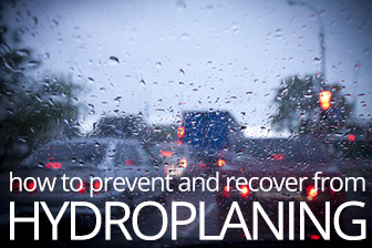 How to Prevent and Recover from Hydroplaning