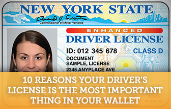 Give me 10 reasons why i may need a driver's license?