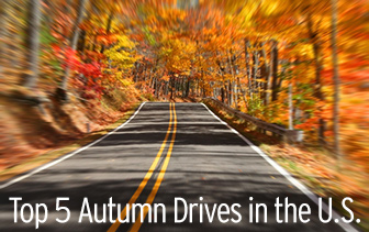 Top 5 Autumn Drives in the U.S.
