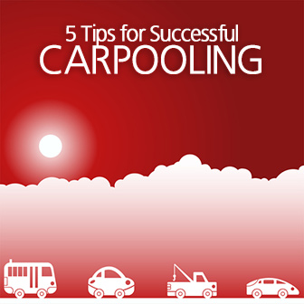 5 Tips for Successful Carpooling