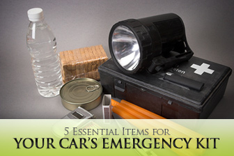 5 Essential Items for Your Car's Emergency Kit