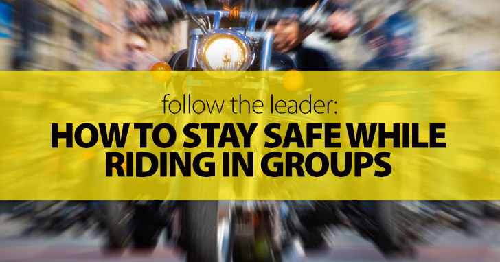 Follow the Leader: Staying Safe While Riding in Groups