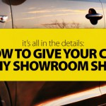 How to Give Your Car a DIY Showroom Shine