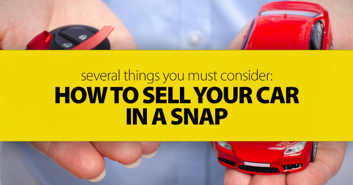 How to Sell Your Car in a Snap