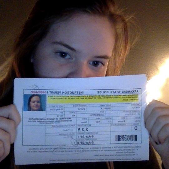 Written driver's test? Driver's license?