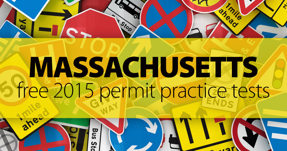 How Many Questions Are On The Permit Test >> FREE Massachusetts RMV Practice Test (MA) 2015