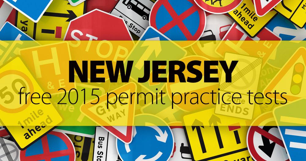 FREE New Jersey MVC Practice Permit Test (NJ) 2016