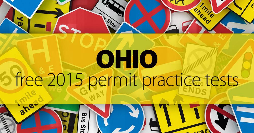 FREE Ohio BMV Permit Practice Test (OH) 2015