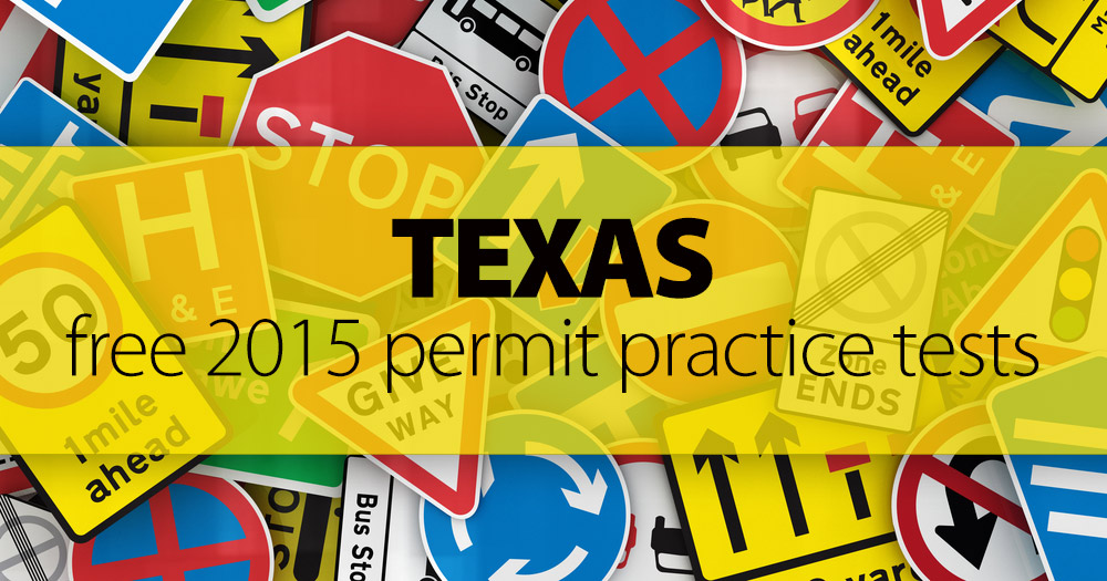 Walk In Driving Test Texas >> FREE Texas DMV Signs & Road Situations Practice Test 2016 | TX