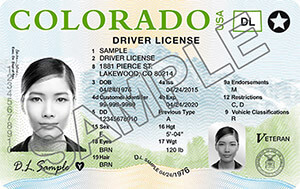 driver's license in Colorado
