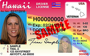 driver's license in Hawaii