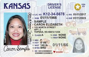KS DMV driver's license