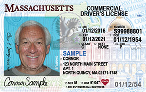 MA commercial driver's license