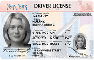 driver's license in New York