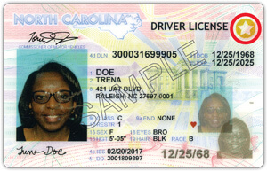 NC commercial driver's license