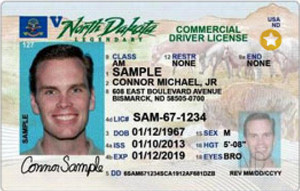 ND commercial driver's license