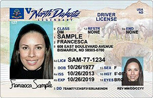 ND DOT driver's license