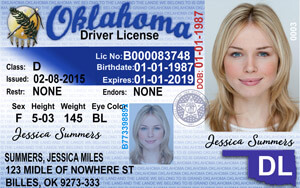 OK DPS driver's license