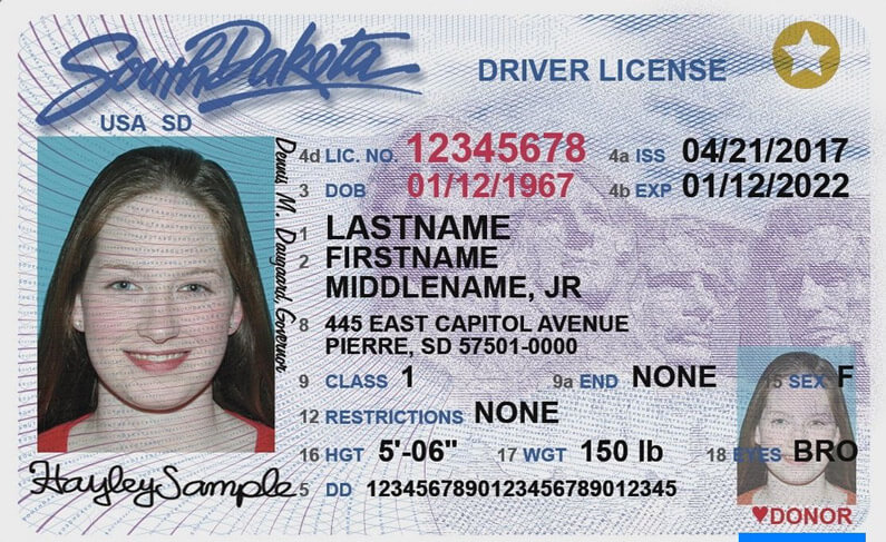 drivers license renewal belle fourche south dakota