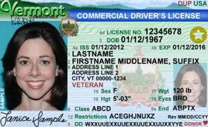 VT commercial driver's license