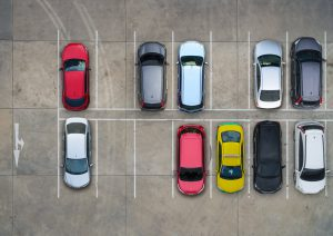 parallel parking space size for drivers test