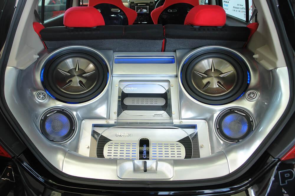 customized car sound system