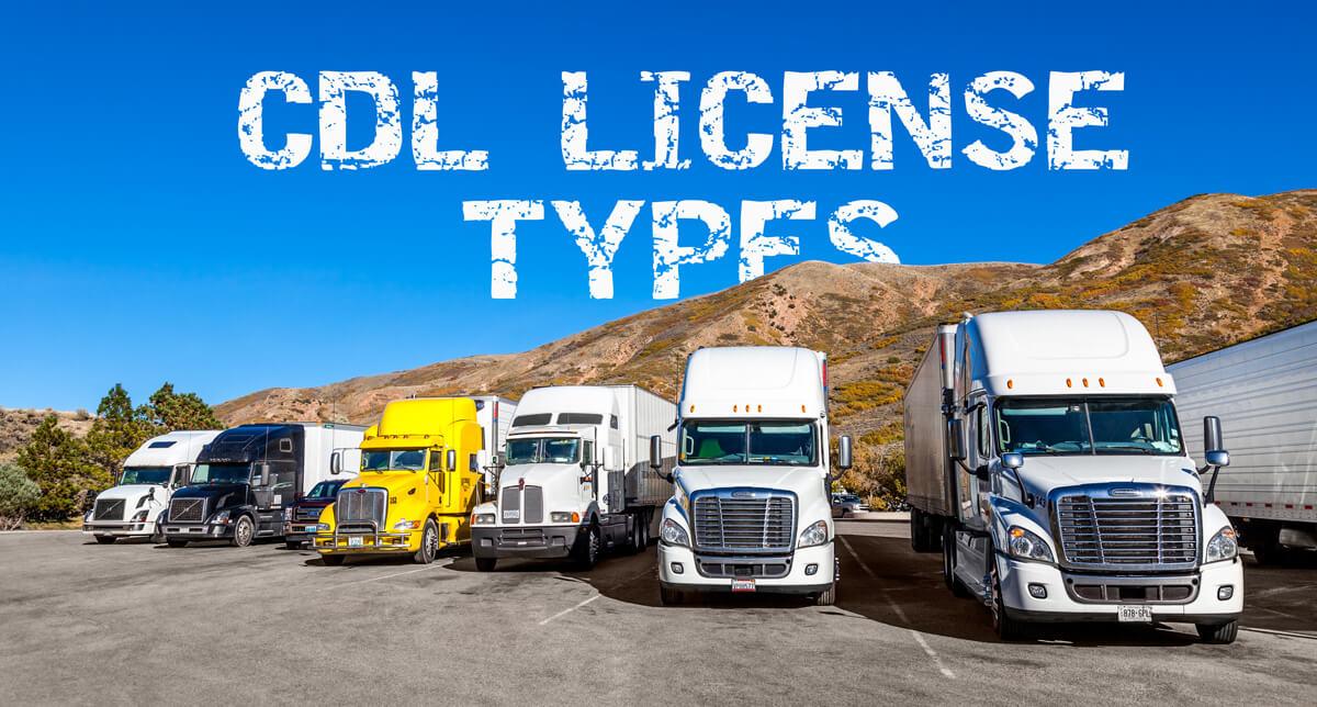 CDL License types