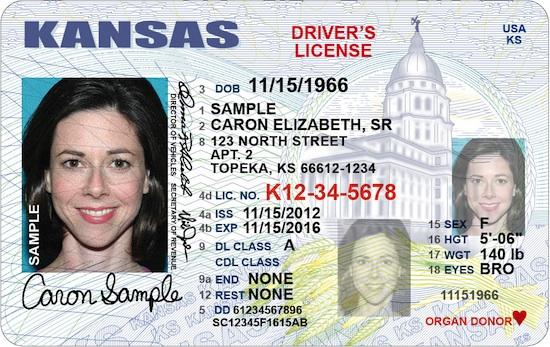 kansas new driver's license application and renewal 2019
