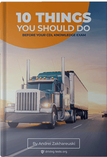 10 things you should do before your driving knowledge exam